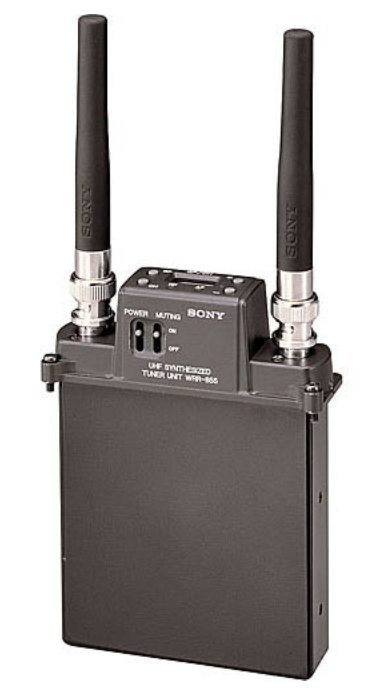 WRR-855S30/32 UHF Portable Plug-In Receiver