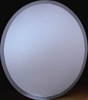 6 ft. Black Banded Circle Screen (Flame Retardant)