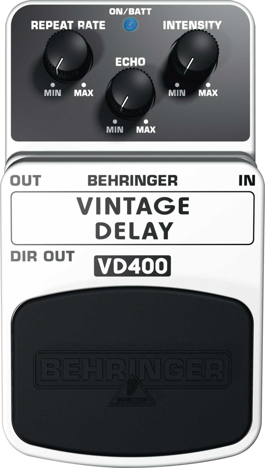 Vintage Delay Guitar Pedal