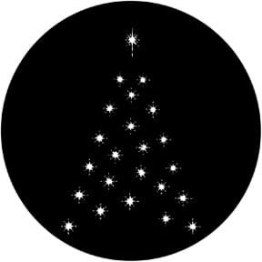 Christmas Tree D Gobo
