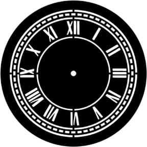 Clock Face Gobo