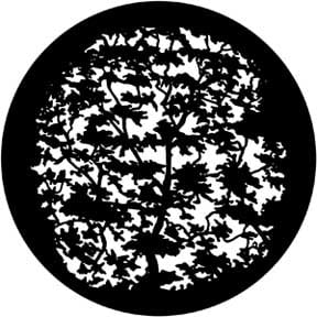 Rosco Laboratories 79118 Tree 7 Gobo 79118
