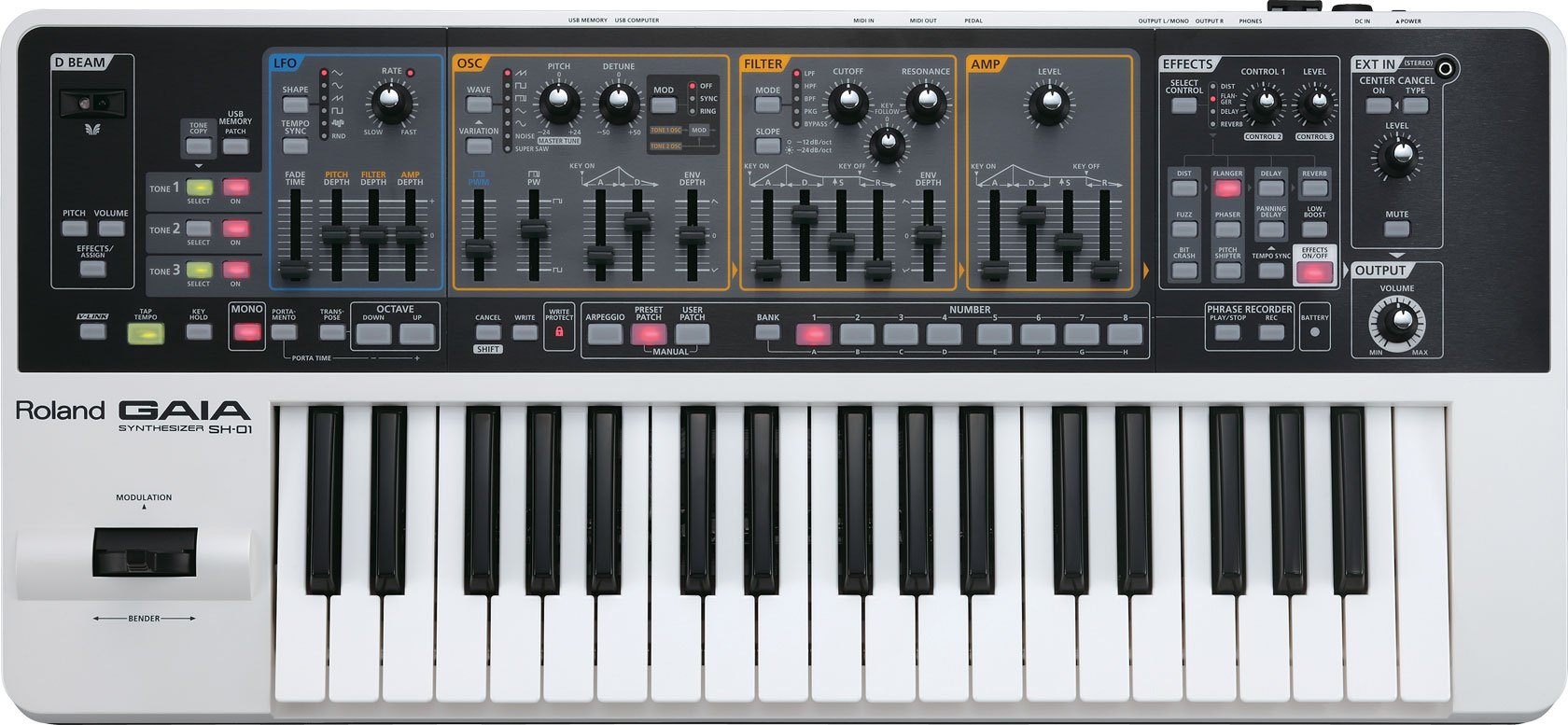37-Key Synthesizer