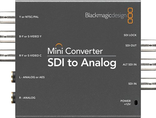 SDI to Analog Mini Converter