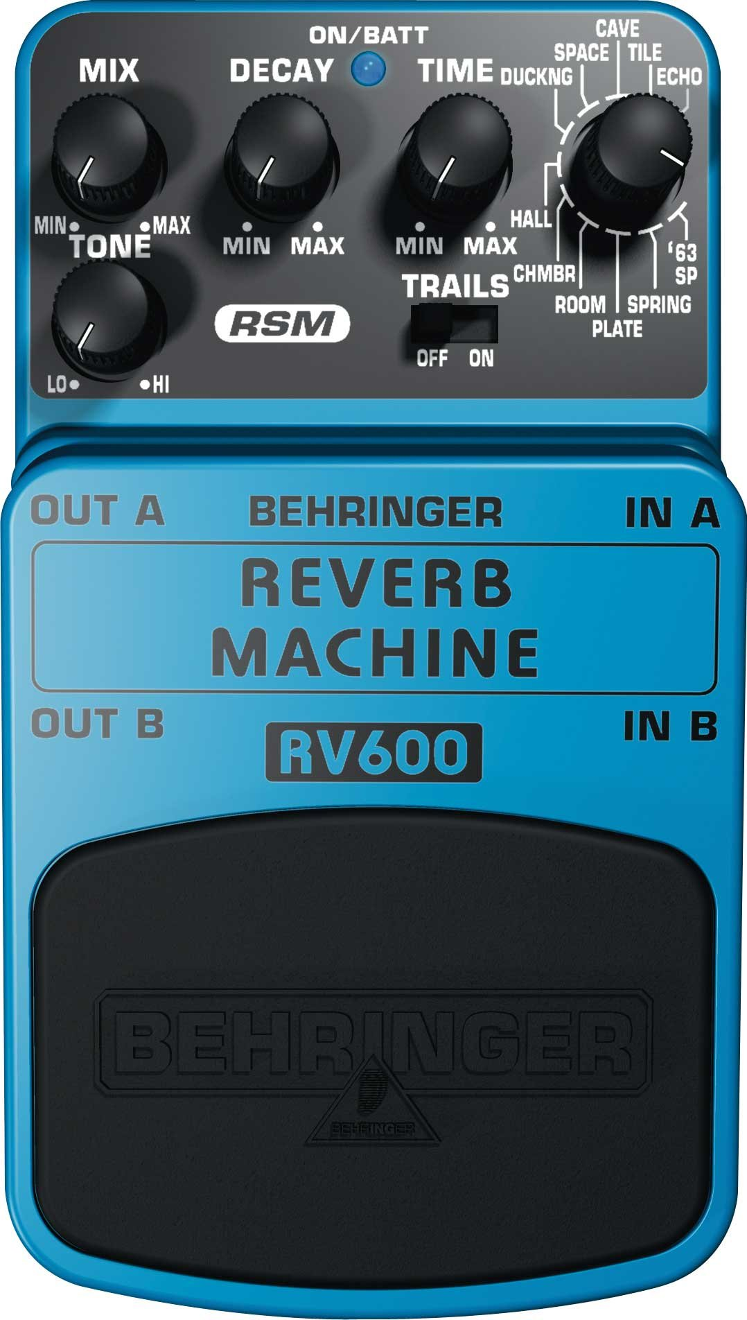Reverb Effects Guitar Pedal