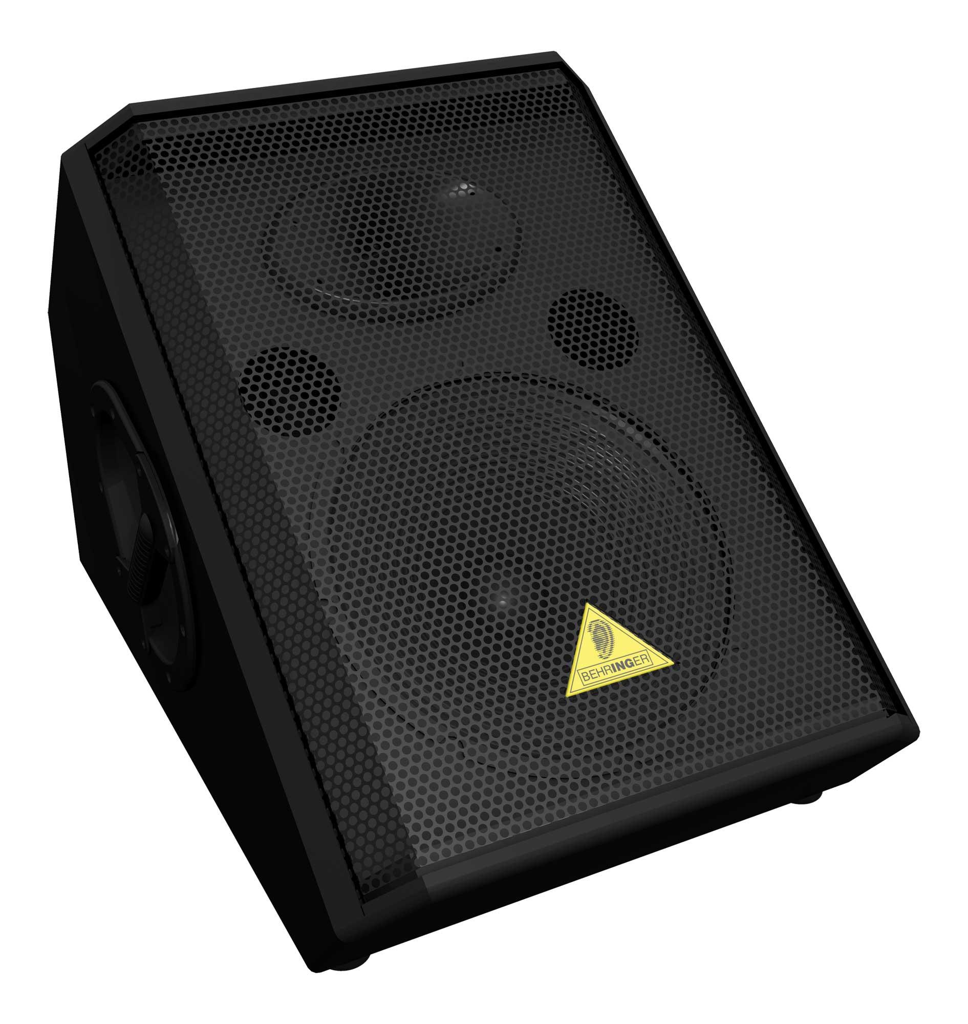 "Floor Monitor Speaker, 12"" 2-Way, 150W Continuous"