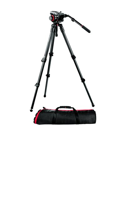 Midi Carbon Fiber System with 504HD Head and 535 Tripod