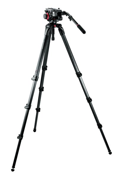 Midi Carbon Fiber System with 504HD Head and 536 Tripod