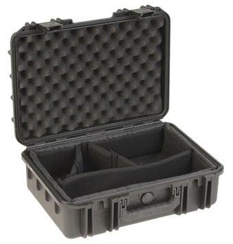 """Mil-Std Waterproof Case 6"""" Deep (w/ dividers)"""