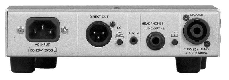 200W Ultra-Light Bass Amplifier Head