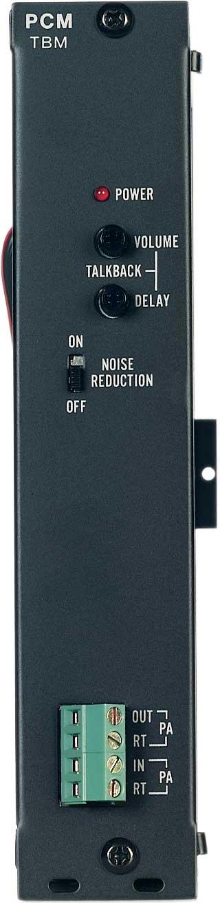 Bogen Communications PCMTBM  Talkback Module for PCM2000 Zone Paging System PCMTBM