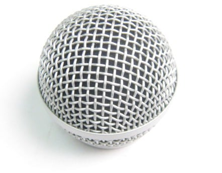 Shure Mic Grille