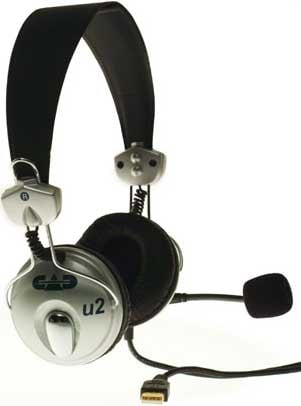 USB Stereo Headphones with Microphone