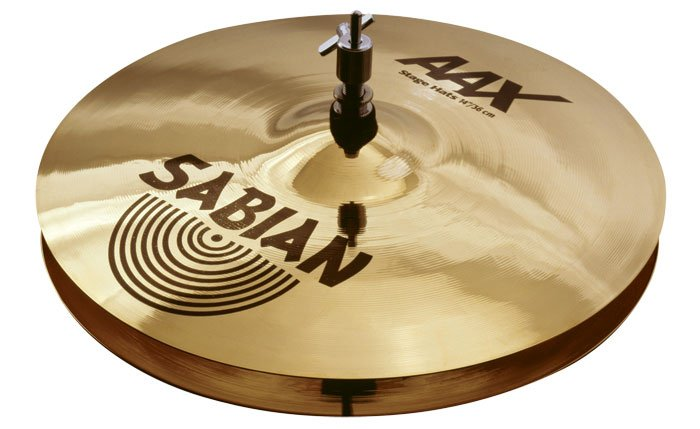 "AAX 14"" Stage Hi-Hat Cymbals in Natural Finish"