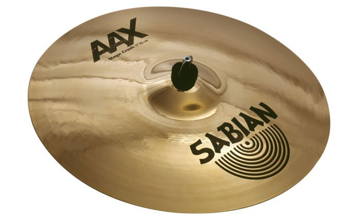 "16"" AAX Stage Crash Cymbal in Brilliant Finish"