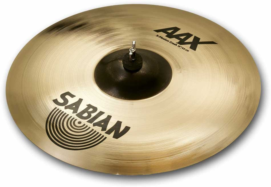 "16"" AAX X-Plosion Crash Cymbal in Brilliant Finish"