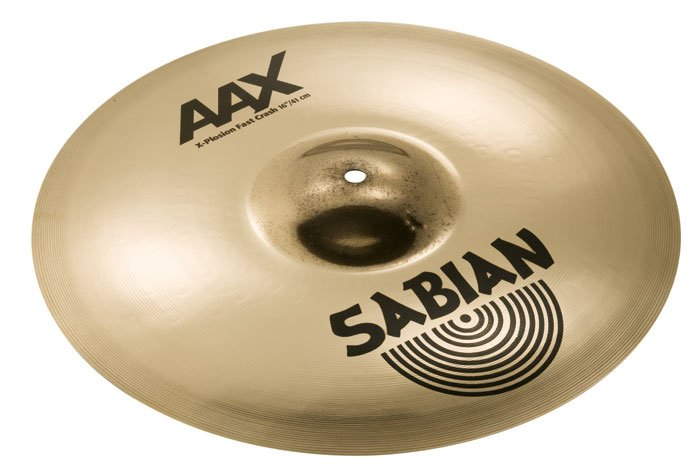 "16"" AAX X-Plosion Fast Crash Cymbal in Brilliant Finish"