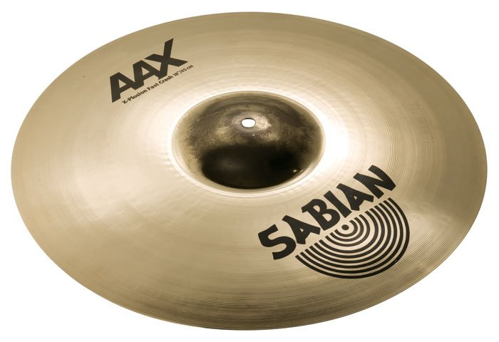 "18"" AAX X-Plosion Fast Crash Cymbal in Brilliant Finish"
