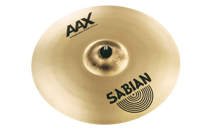 "Sabian 21887XB 18"" AAX X-Plosion Crash Cymbal in Brilliant Finish 21887XB"