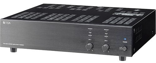 P-9120DH Amplifier 120W, 70V, 2 Channel