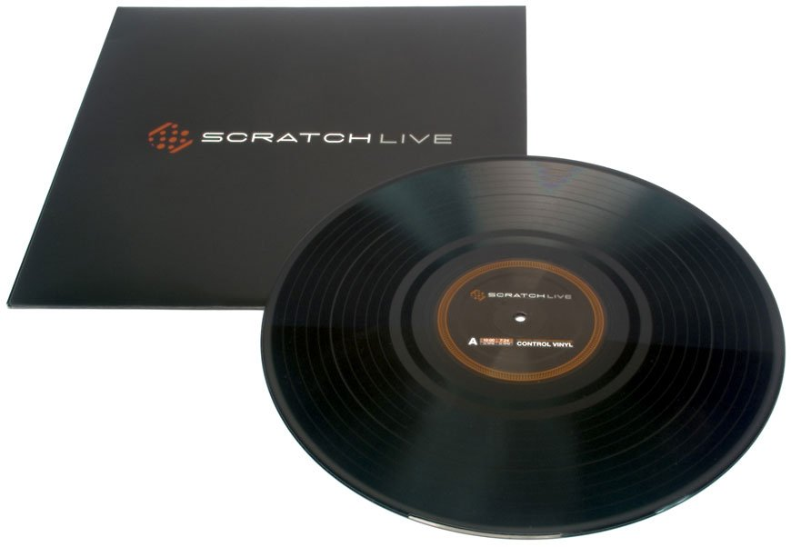 SSL Vinyl Control LP for Serato Scratch Live (Purple)