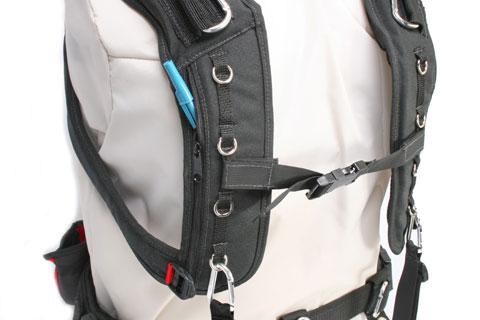 Audio Harness with Small Belt & Memory Foam