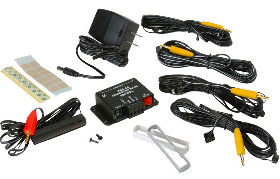 LCD Proof DinkyLink IR Receiver Kit in Black