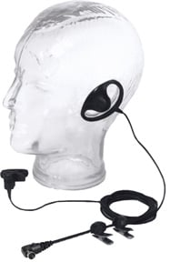 HS4-3 Earpiece and Lapel Mic