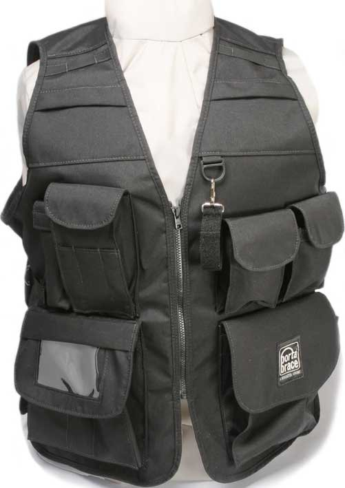Extra-Large Video Vest (Size 46, Black)