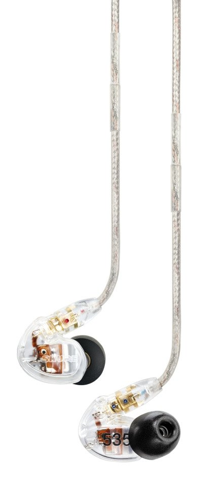 Triple-Driver Sound Isolating Earphones with Clear Housing
