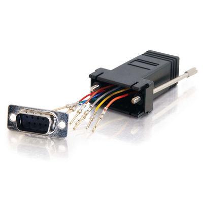 Adaptor, DB9 Male to RJ45