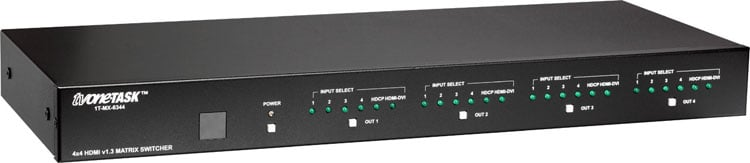HDMI Matrix Routing Switcher 4x4 v1.3