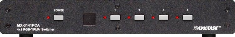 TV One MX-3141PCA  Video/Audio Routing Switcher 4x1 RGB/YPbPr MX-3141PCA