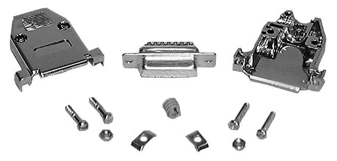 DB25 Male Connector Kit (Crimp Type)