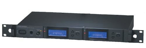 Dual Channel UHF True Diversity Receiver, Frequency Agile, 541.500 MHz to 566.375 MHz