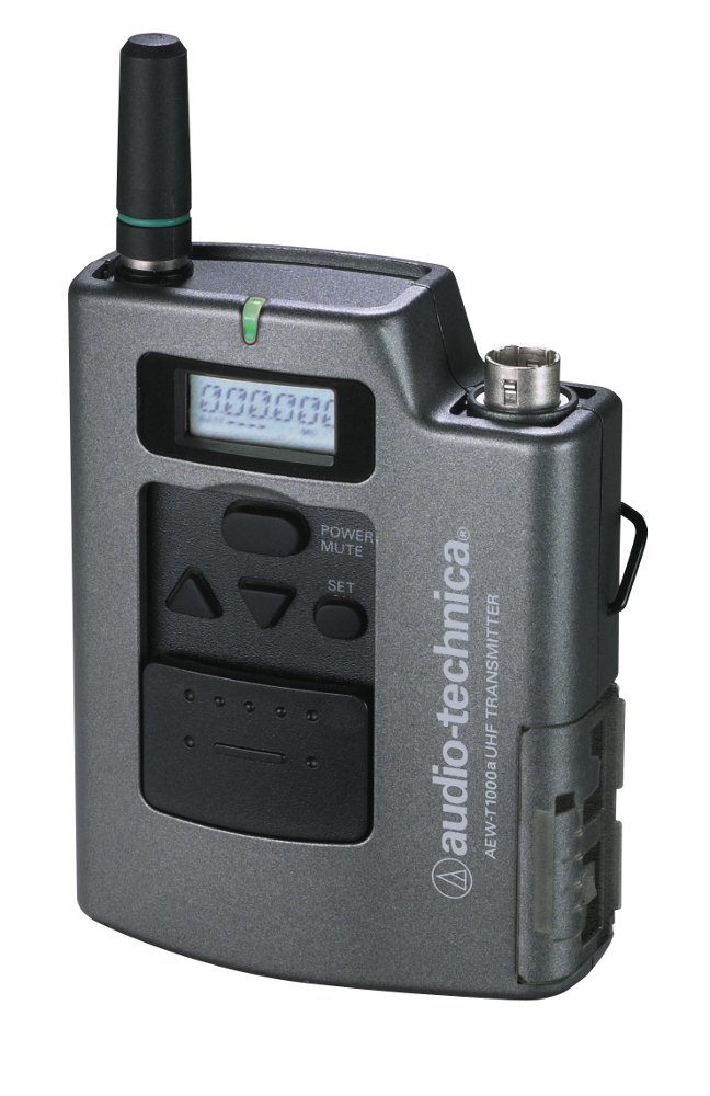 Audio-Technica AEW-T1000AC Wireless Bodypack Transmitter for AT 5000 Series, TV25-30 AEW-T1000AC