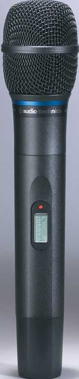 Wireless Handheld Transmitter, Cardioid Condenser Microphone, for AT 5000 Series, TV25-30