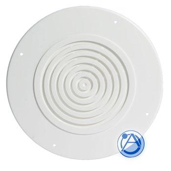 """8"""" Round White Plastic Baffle"""
