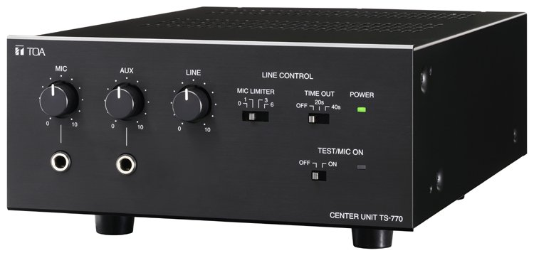 TS-770 Center Unit for TS-770 Series Conference System