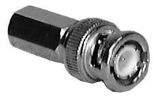 Twist-On Male BNC Connector (for RG59/U, RG62/U Wire)