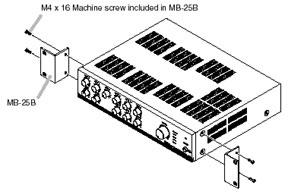 Rack Mount Kit for 900-Series Amps