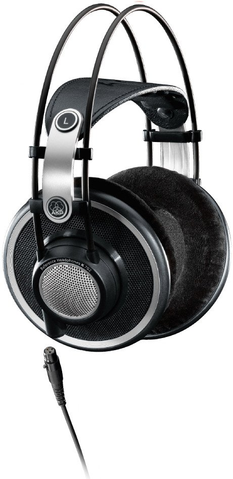 Open Back Over-Ear Reference Studio Headphones with 3M Detachable Cable