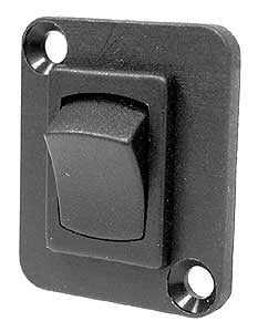 Rocker Switch on DBA, DPDT ON-ON, Panel Mount, Connectrix