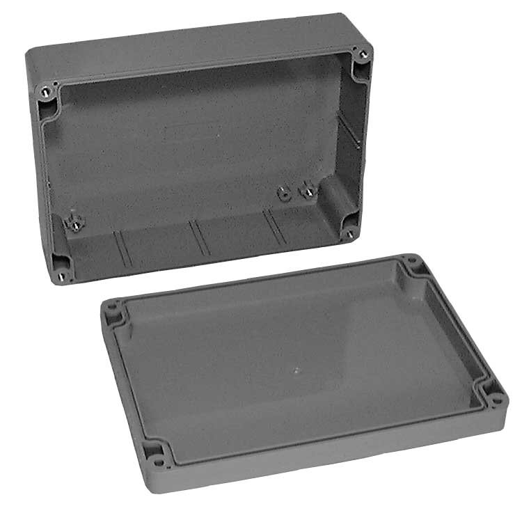 "Sealed ABS Enclosure: 6.75"" L x 4.75"" W x 2.165"" H"