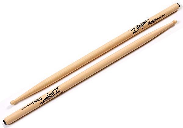 Trigger with Anti-Vibe Drumsticks