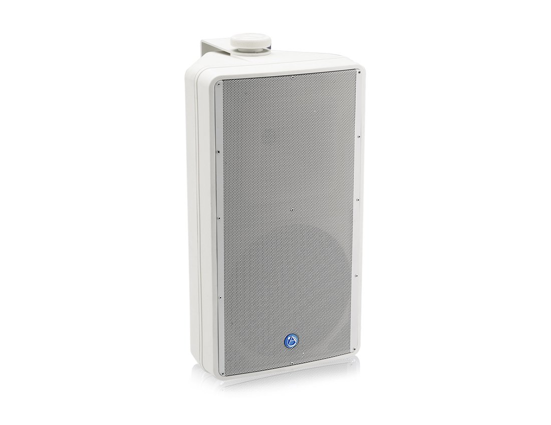 "8"" Surface Mount Speaker in White with 70V Transformer"