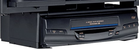 VCR/DVD Player Mount