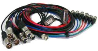 AJA Video Systems Inc 101884-00 KONA-L Breakout Cable 101884-00