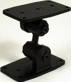 Black Speaker Ceiling Bracket (for Impulse Speakers, 35 lb Capacity)