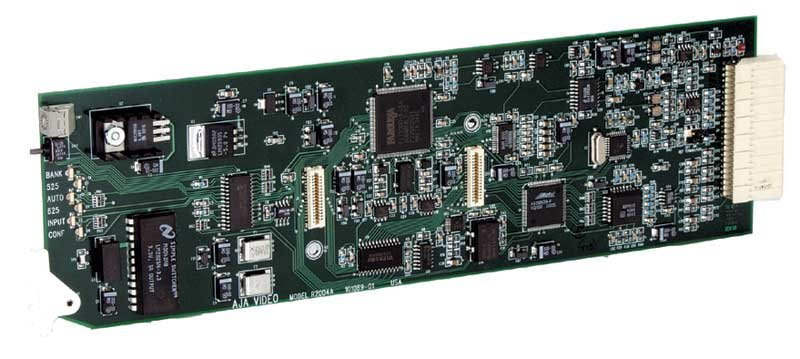 A/D Converter, 10-Bit, YPbPr, RGB, NTSC, PAL, Y/C to SDI, with FSG Frame Sync/Genlock Module